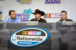 Championship contenders press conference: Elliott Sadler, Richard Childress Racing Chevrolet, Ricky