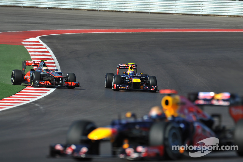 Lewis Hamilton, McLaren, Mark Webber, Red Bull Racing