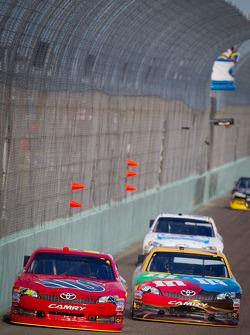 David Stremme, Inception Motorsports Toyota, Kyle Busch, Joe Gibbs Racing Toyota