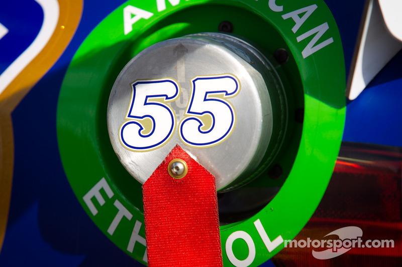 Car detail, Mark Martin, Michael Waltrip Racing Toyota