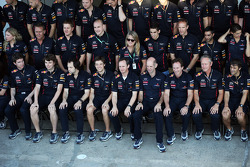 Red Bull Racing team photograph