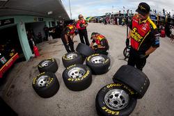 Michael Waltrip Racing Toyota team members