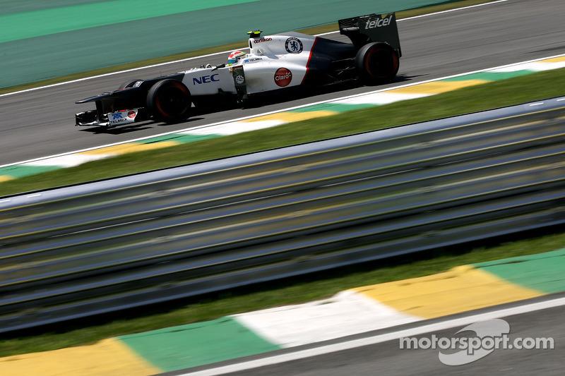 Sergio Perez, Sauber F1 Team C31, 2012
