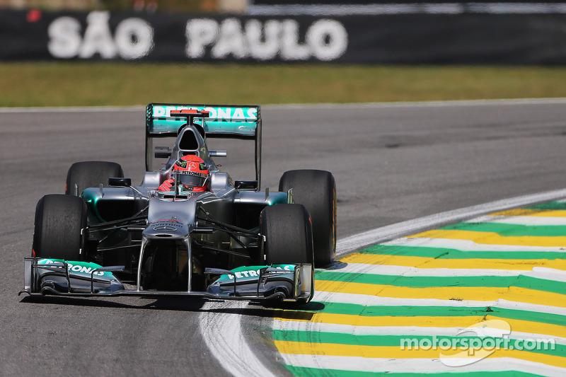 2012: Mercedes F1 W03