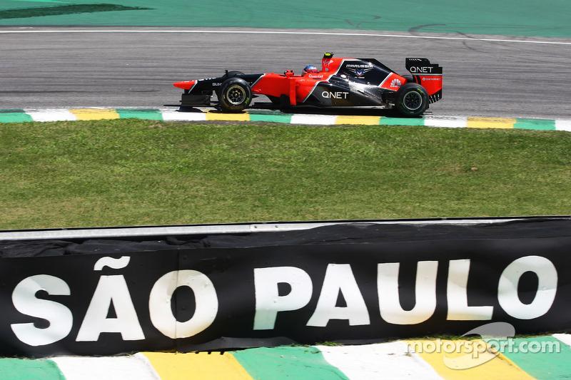 Шарль Пик. ГП Бразилии, Вторая пятничная тренировка.