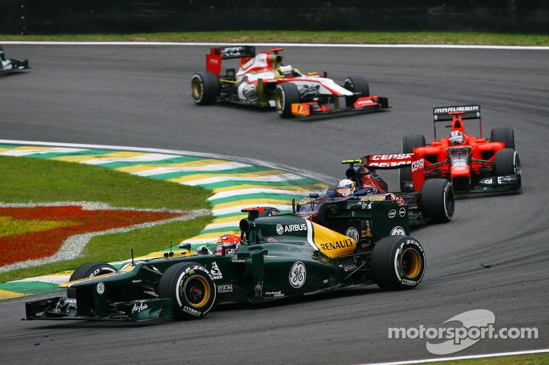 Хейкки Ковалайнен. ГП Бразилии, Воскресная гонка.
