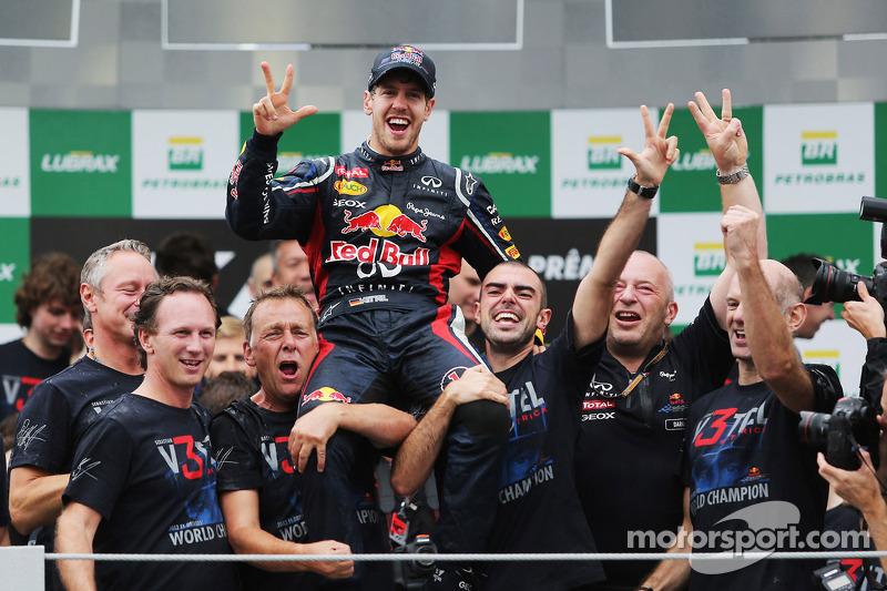 Sebastian Vettel, campeón del mundo 2012