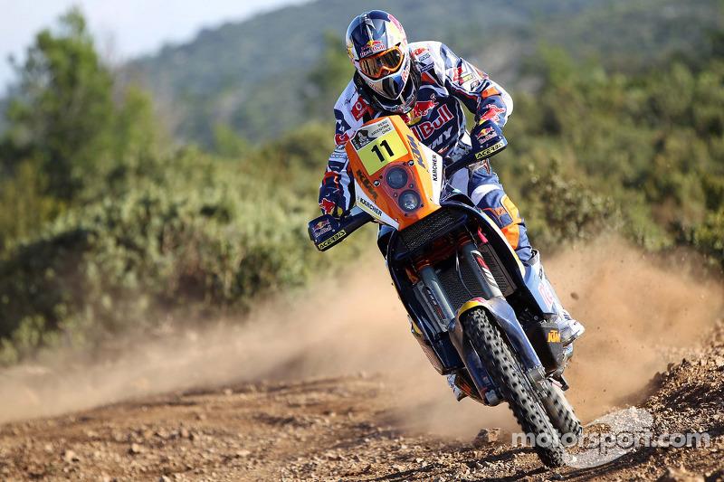 Рубен Фариа. Презентация KTM, презентация.