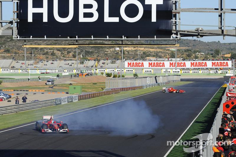 Felipe Massa en Fernando Alonso, Scuderia Ferrari