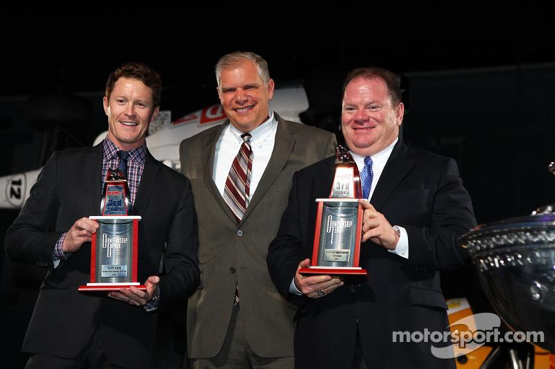Скотт Диксон. Празднования победы в чемпионате IndyCar, особое событие.