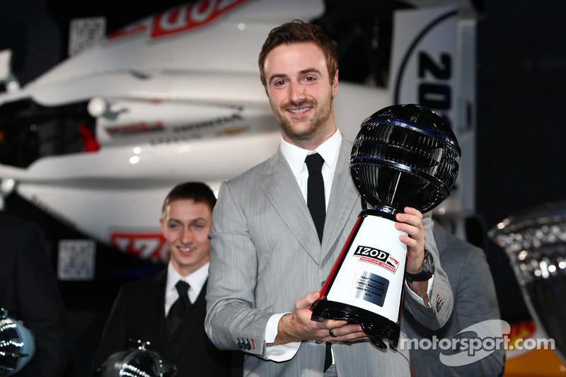 Джеймс Хинчклифф. Празднования победы в чемпионате IndyCar, особое событие.