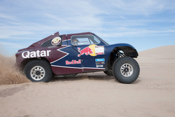The Qatar Red Bull Rally Team buggy testing
