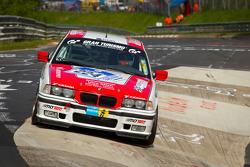 #224 Team DMV BMW M3 GT: Uwe Reich, Michael Lachmayer, Joe Kramer