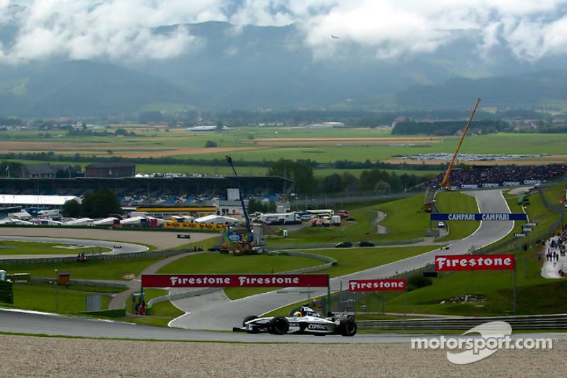 Ральф Шумахер. ГП Австрии, Воскресная гонка.