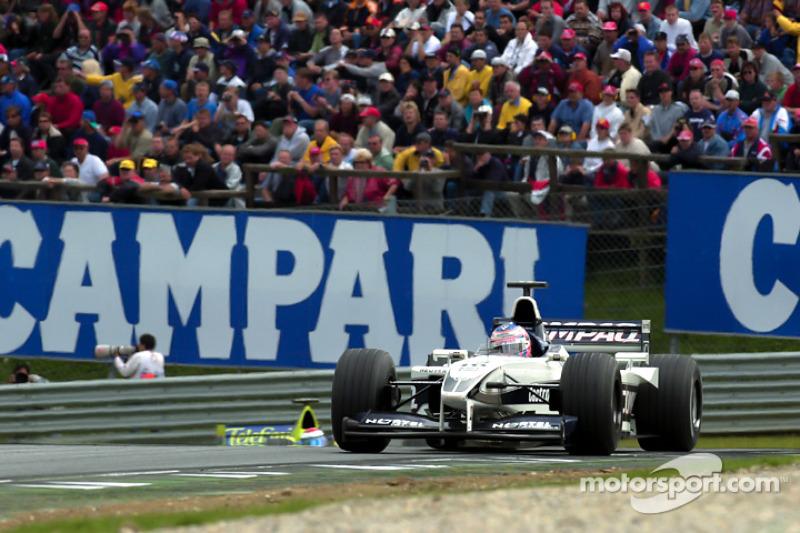 Дженсон Баттон. ГП Австрии, Воскресная гонка.