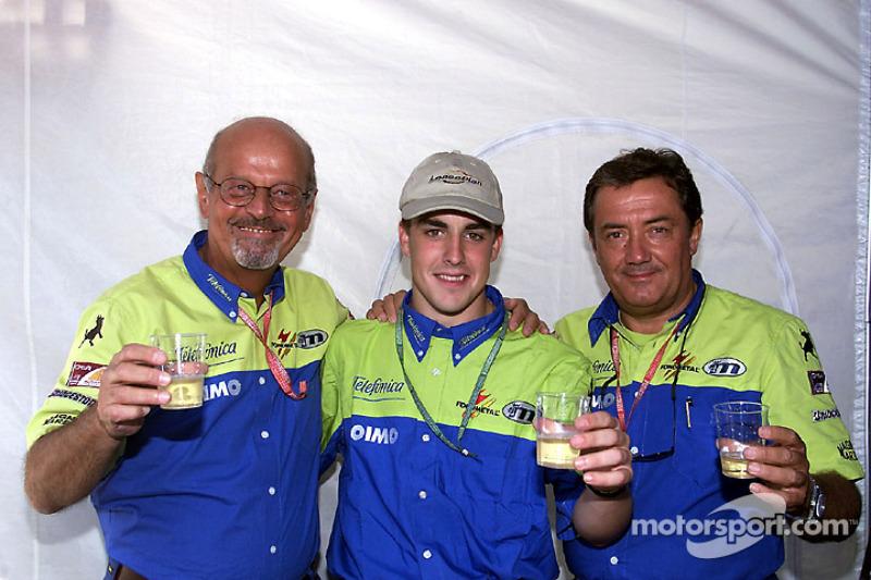 250 Grands Prix voor Minardi met een jonge Fernando Alonso