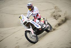 #18 KTM: Jakub Przygonski tests near Lima, Peru