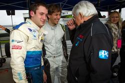 Nick Tandy, Christian Englehart and Franz Konrad