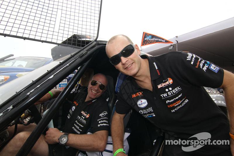 Tim Coronel and Jurgen van den Goorbergh