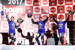 Podium: 1. Katsuyuki Nakasuga, Alex Lowes, Michael Van Der Mark, Yamaha Factory Racing Team
