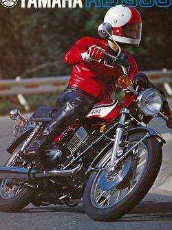Ярно Сааринен, реклама Yamaha 1973 года