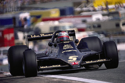 Mario Andretti az új Lotus 79-ben