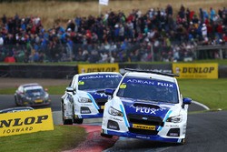 Jason Plato, Team BMR Subaru Levorg, Ashley Sutton, Team BMR Subaru Levorg