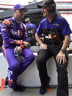 Denny Hamlin, Joe Gibbs Racing Toyota, Michael Wheeler