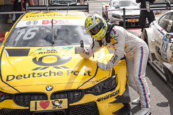 Race winner Timo Glock, BMW Team RMG, BMW M4 DTM