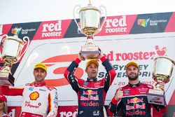 Podium: 1.  Jamie Whincup, Triple Eight Race Engineering Holden, 2. Fabian Coulthard, Team Penske Ford, 3. Shane van Gisbergen, Triple Eight Race Engineering Holden