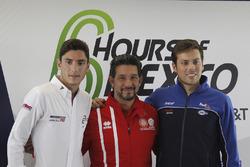 Alfonso Celis Jr., Roberto González y Diego Menchaca