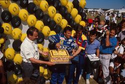 Riccardo Patrese, Williams fête son 200e Grand Prix