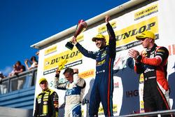 Podium: 1. Andrew Jordan, West Surrey Racing Racing BMW 125i M Sport; 2. Adam Morgan, Ciceley Motorsport Mercedes Benz A-Class; 3. Jason Plato, Team BMR Subaru Levorg