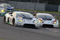 #87 JLOC Lamborghini GT3: Shinya Hosokawa, Kimiya Sato, #88 JLOC Lamborghini GT3: Manabu Orido, Kazuki Hiramine