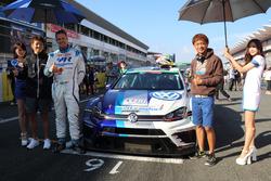 #10 Racingline PERFORMANCE GOLF TCRの密山祥吾、フィリップ・デベザ、脇阪寿一