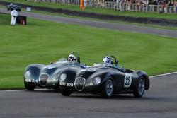 Freddie March Memorial Trophy: John Young Frederic Wakeman C-Type Jaguar