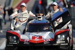 Winners #2 Porsche Team Porsche 919 Hybrid: Timo Bernhard, Earl Bamber, Brendon Hartley