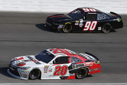 Erik Jones, Joe Gibbs Racing Toyota, Mario Gosselin, King Autosport Chevrolet
