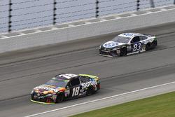 Kyle Busch, Joe Gibbs Racing Toyota, Brett Moffitt, BK Racing Toyota