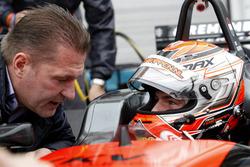 Jos Verstappen en Max Verstappen, Van Amersfoort Racing Dallara F312 - Volkswagen
