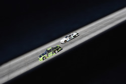 Ryan Blaney, Team Penske Ford and Joey Gase, Jimmy Means Racing Chevrolet