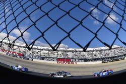 Erik Jones, Joe Gibbs Racing Toyota, Brennan Poole, Chip Ganassi Racing Chevrolet and Matt Tifft, Joe Gibbs Racing Toyota