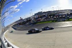 Chase Elliott, Hendrick Motorsports Chevrolet, Cole Whitt, TriStar Motorsports Chevrolet