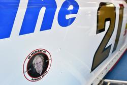 Ryan Blaney, Wood Brothers Racing Ford Robert Yates decal