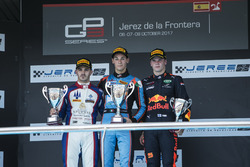 Podium: Alessio Lorandi, Jenzer Motorsport, Dorian Boccolacci, Trident, Niko Kari, Arden International