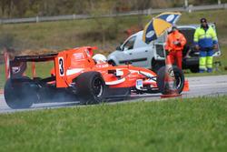 Jean-Marc Salomon, Tatuus-Honda FM, Ecurie des Ordons, 1. Training