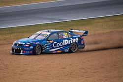 Tim Blanchard, Brad Jones Racing Holden runs wide