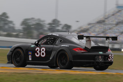#38 BGB Motorsports Luna-C Clothing Porsche Cayman: Lee Davis, Ryan Eversley