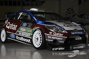 The Qatar M-Sport Ford Fiesta