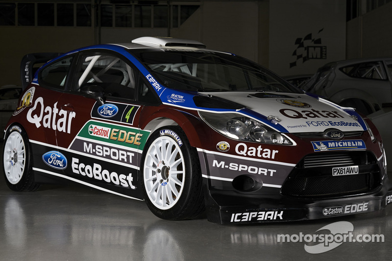 Презентация Qatar M-Sport World Rally Team, особое событие.